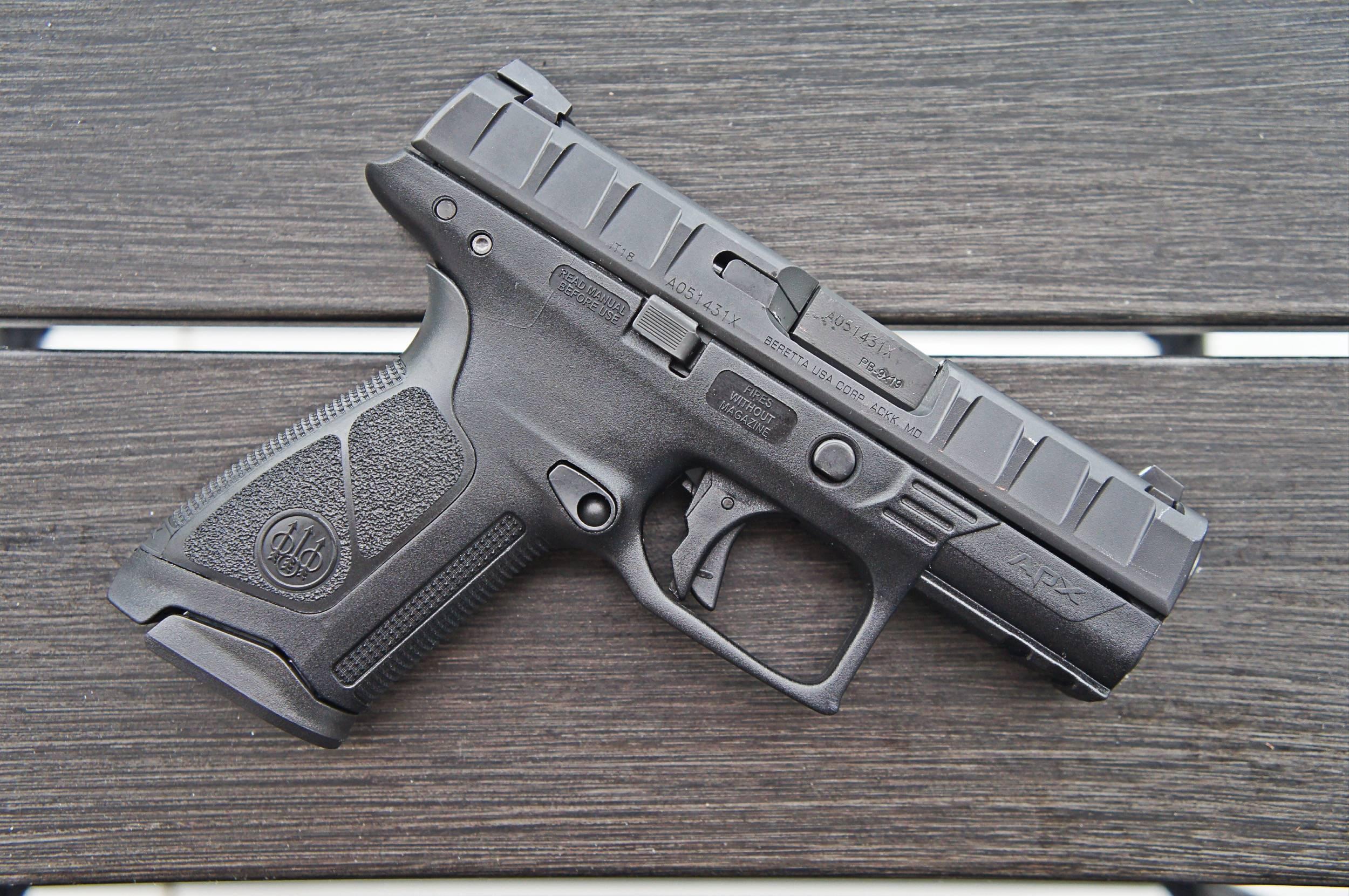 Gun review: beretta apx carry 9mm