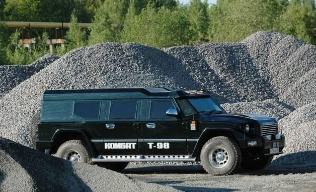 Бронеавтомобиль t-98 комбат двигатель, вес, размеры