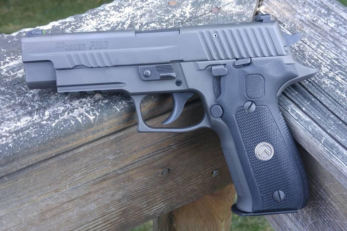 Трансформируемый пистолет зиг зауэр p250