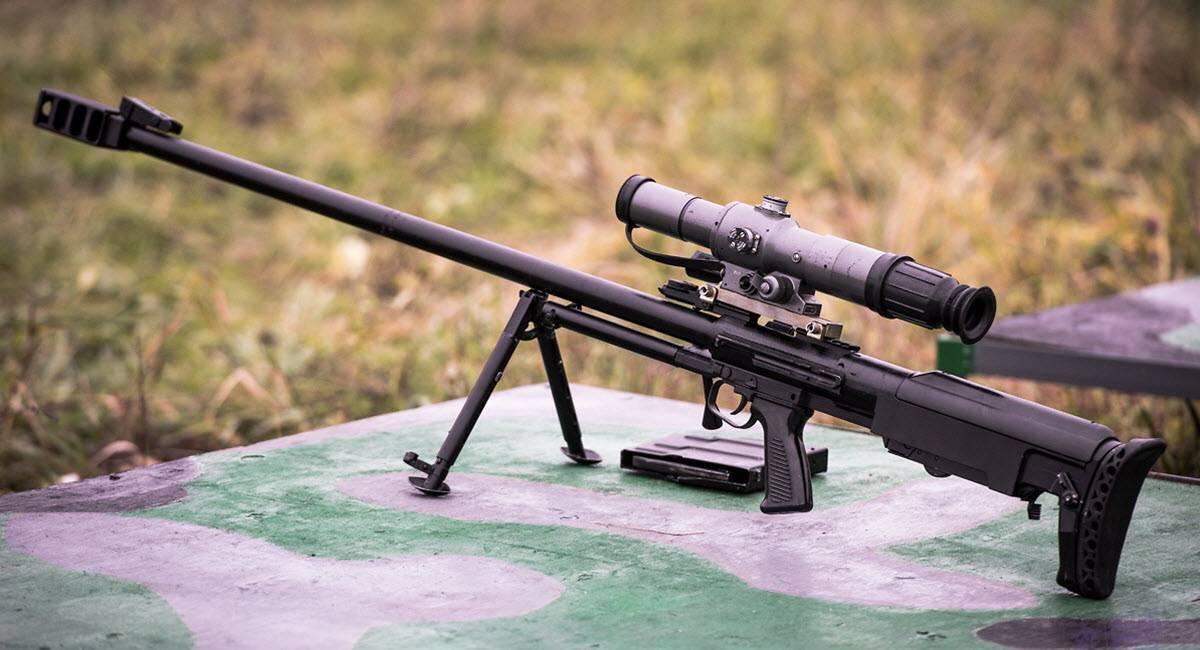 Винтовка Корд – и снайперская и крупнокалиберная, что может быть лучше