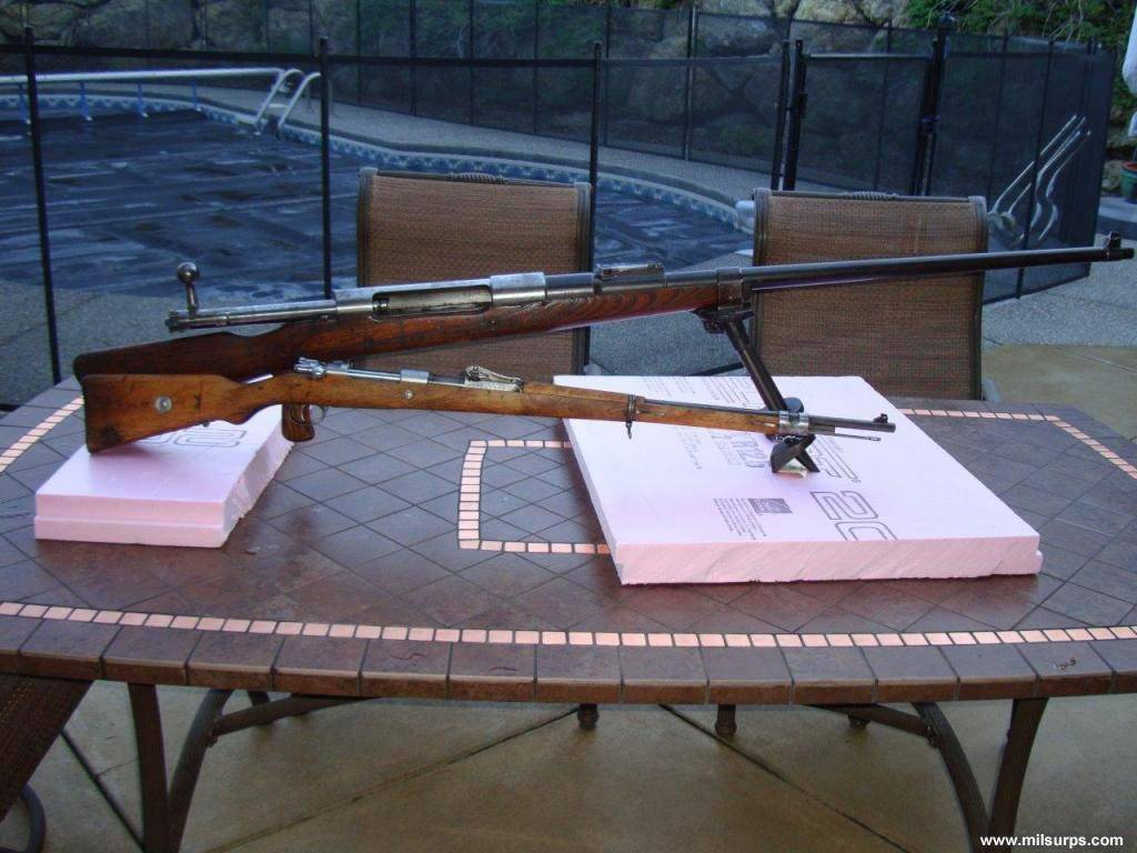 Противотанковое ружье Mauser T-Gewehr M1918