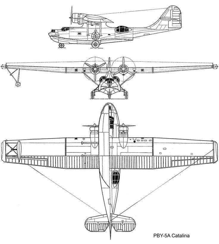 Обзор academy 1/72 consolidated pby-5 catalina : 1/72 : статьи