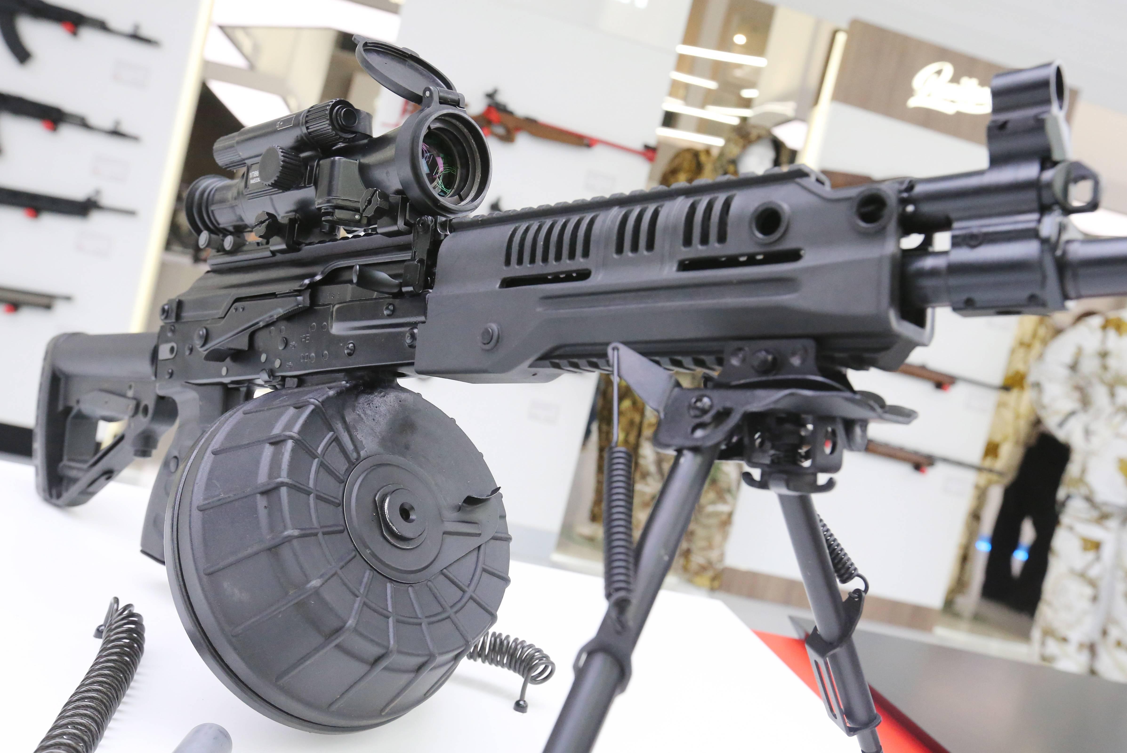 Новый РПК 16 - ручной пулемет Калашникова