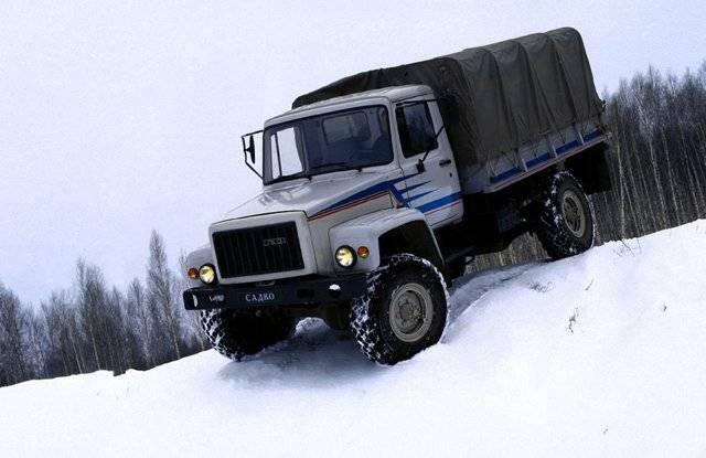 ГАЗ-3308 – нижегородский «Садко»