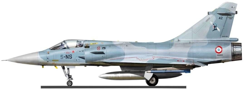 Dassault Mirage 2000 – многоцелевой истребитель из Франции