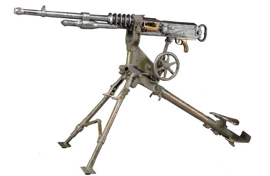Hotchkiss m1914 пулемет - hotchkiss m1914 machine gun - qwe.wiki