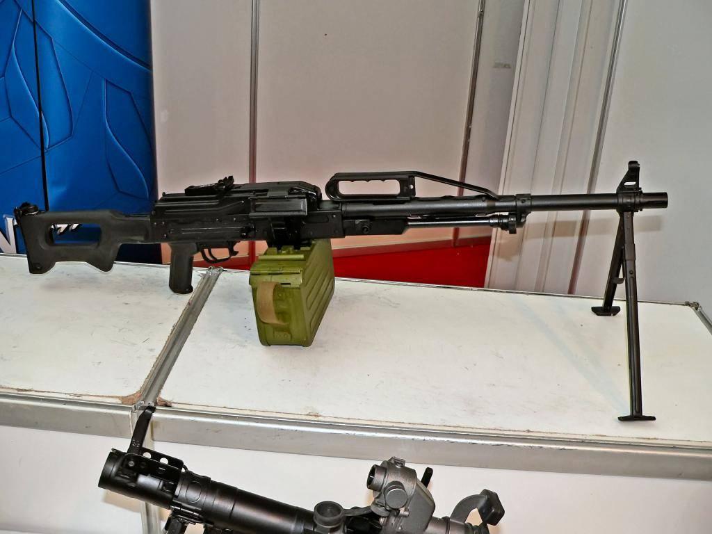 Пкп «печенег» — российский пулемет калибр 7,62-мм