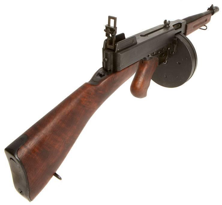 Томми оружие. пулемет томпсона: фото, тактико-технические характеристики