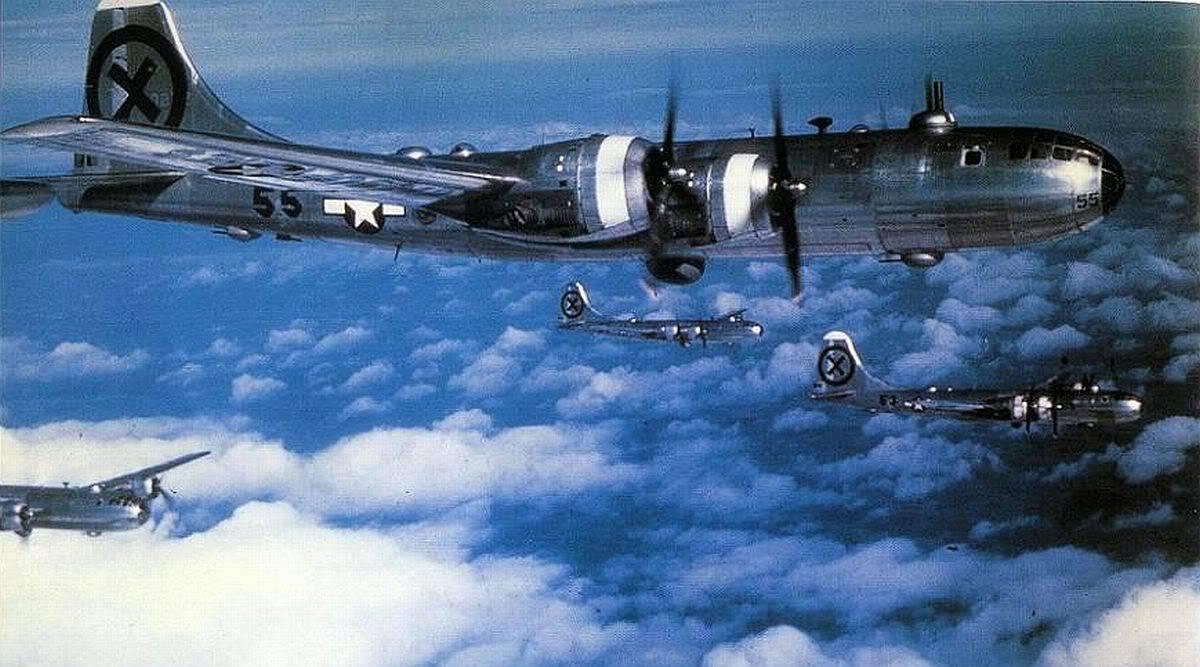 Американский бомбардировщик B-29 «Superfortress» — легенда мировой авиации