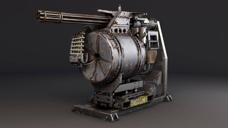 Шестиствольный пулемет вулкан. пулемет «вулкан» – электропривод и шесть смертоносных стволов. автоматическое устройство-часовой nerf vulcan
