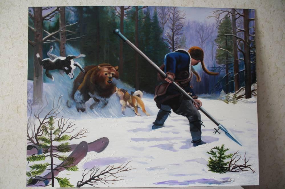 Выбор оружия и патронов для охоты на медведя