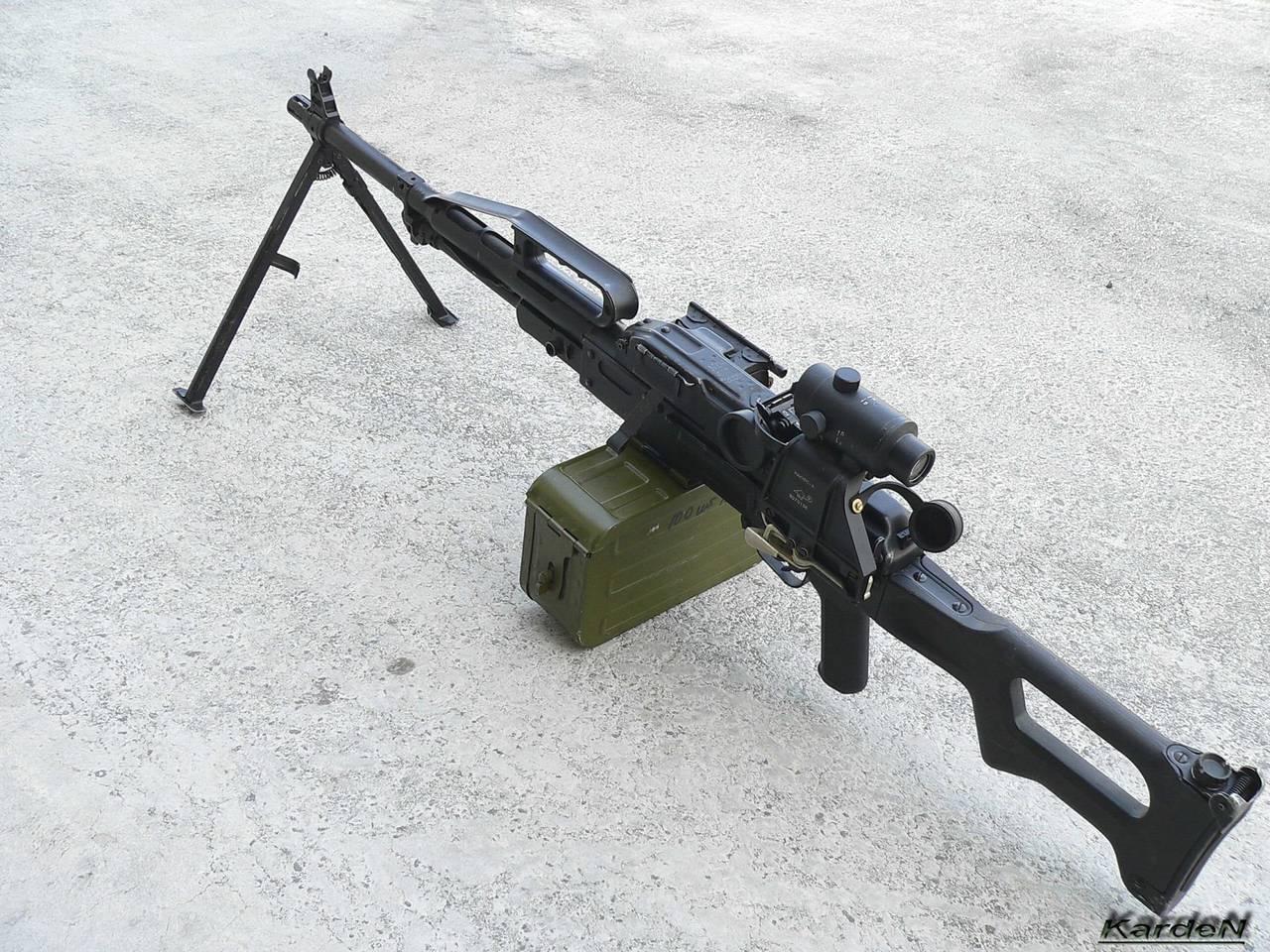 Вторая легенда калашникова и лучший в мире пулемет: история пк и его развития