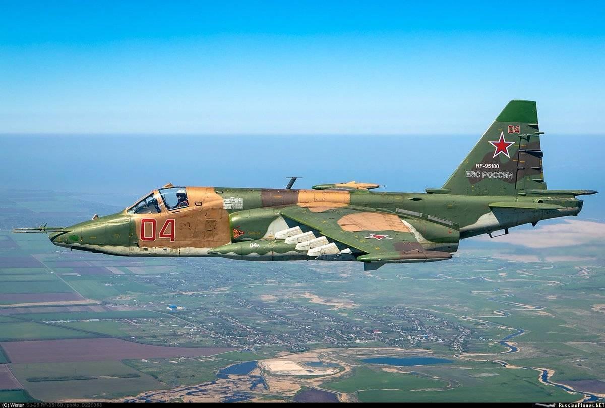 Су-25 «грач» — бронированный штурмовик