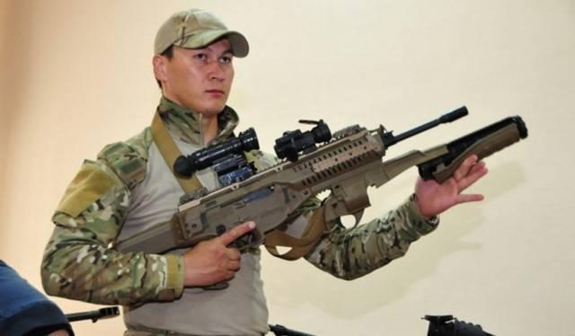 Штурмовая винтовка mpt-76 mehmetcik-2