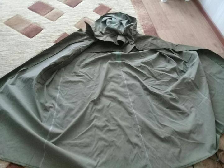 Плащ-палатка – лучшая вещь в походе для солдата или путешественника
