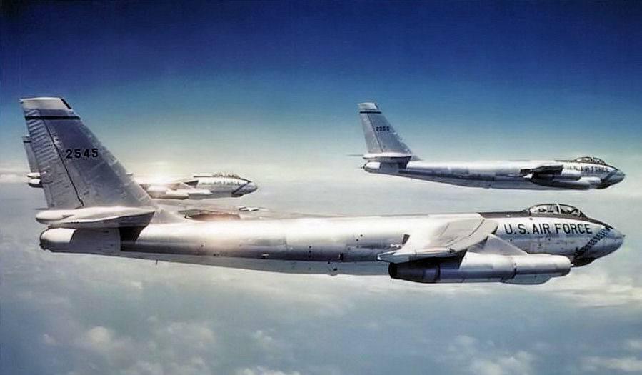 Boeing b-47 stratojet — википедия