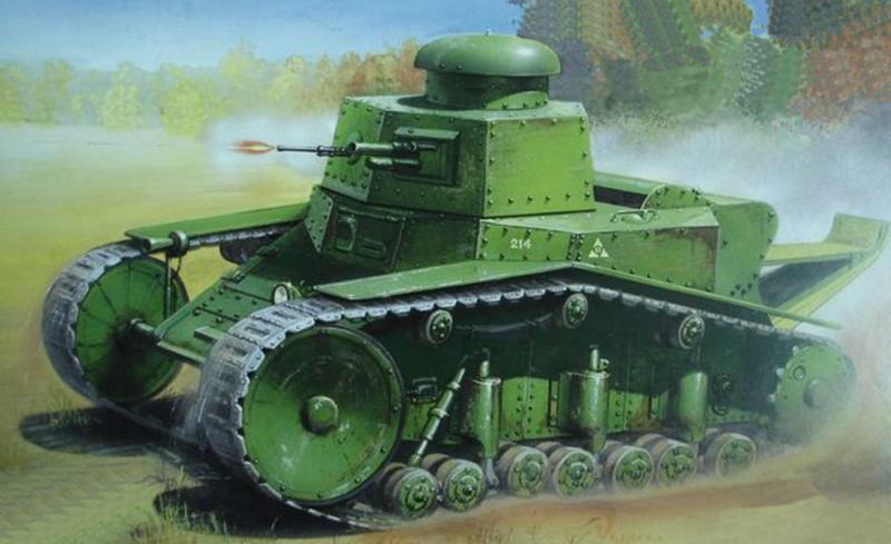 МС-1 (Т-18): «Первая ласточка» советского танкостроения