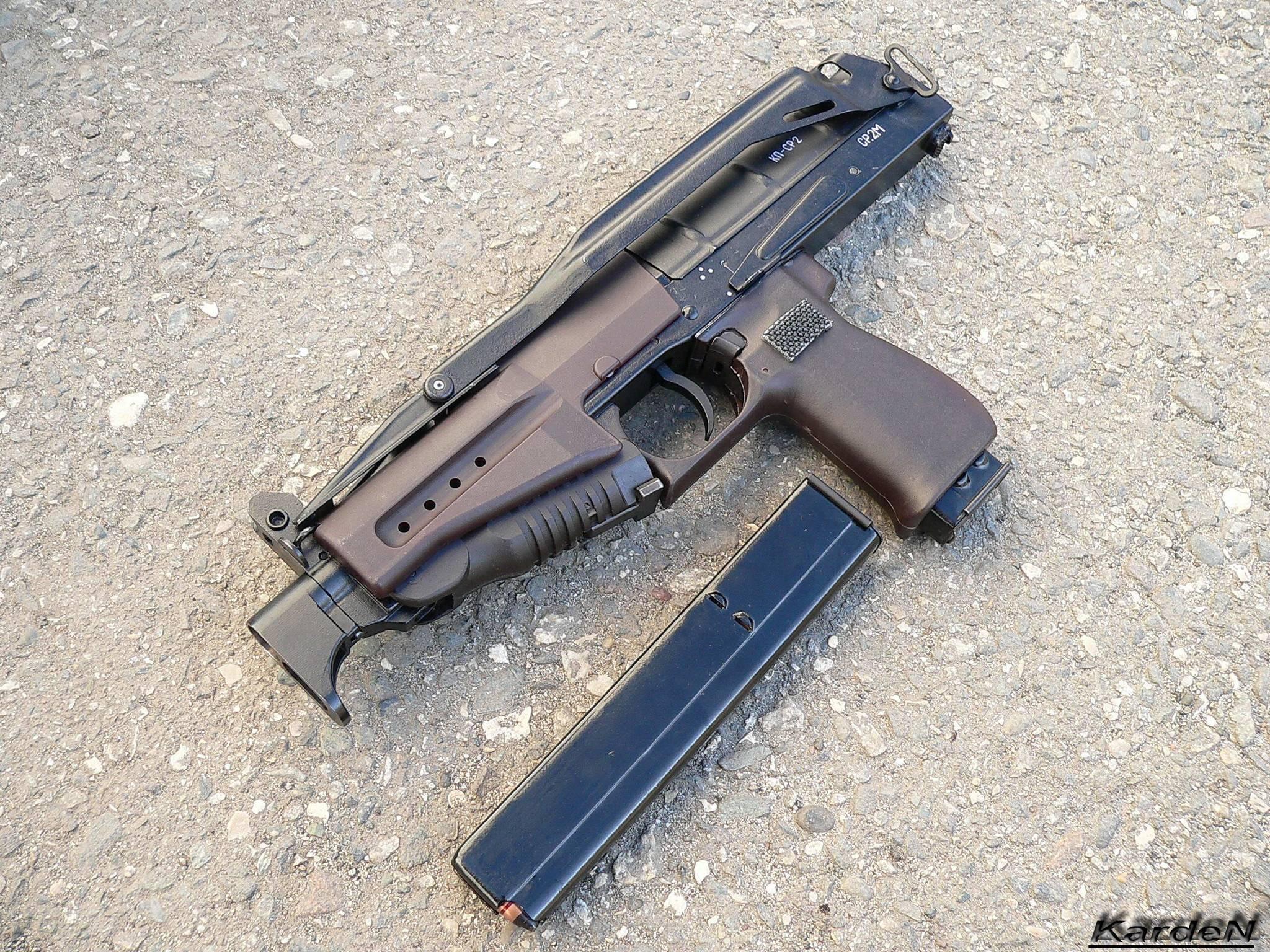 Русский пистолет-пулемёт пп ср-2 «вереск»