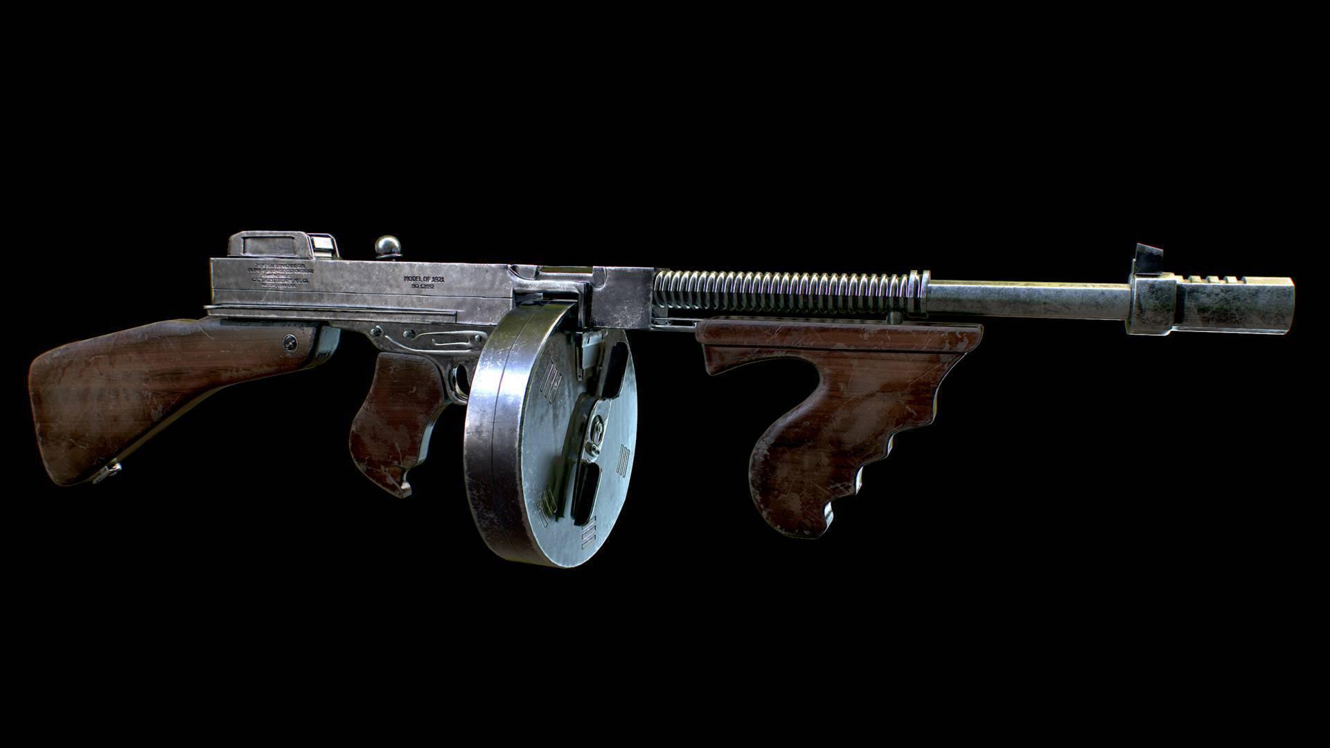Автомат томпсона ттх. фото. видео. размеры. скорострельность. скорость пули. прицельная дальность. вес