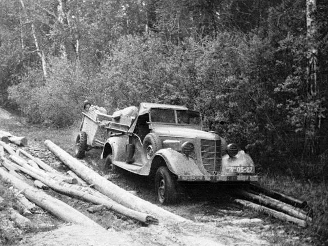 Газ-64 – первый советский легковой внедорожник