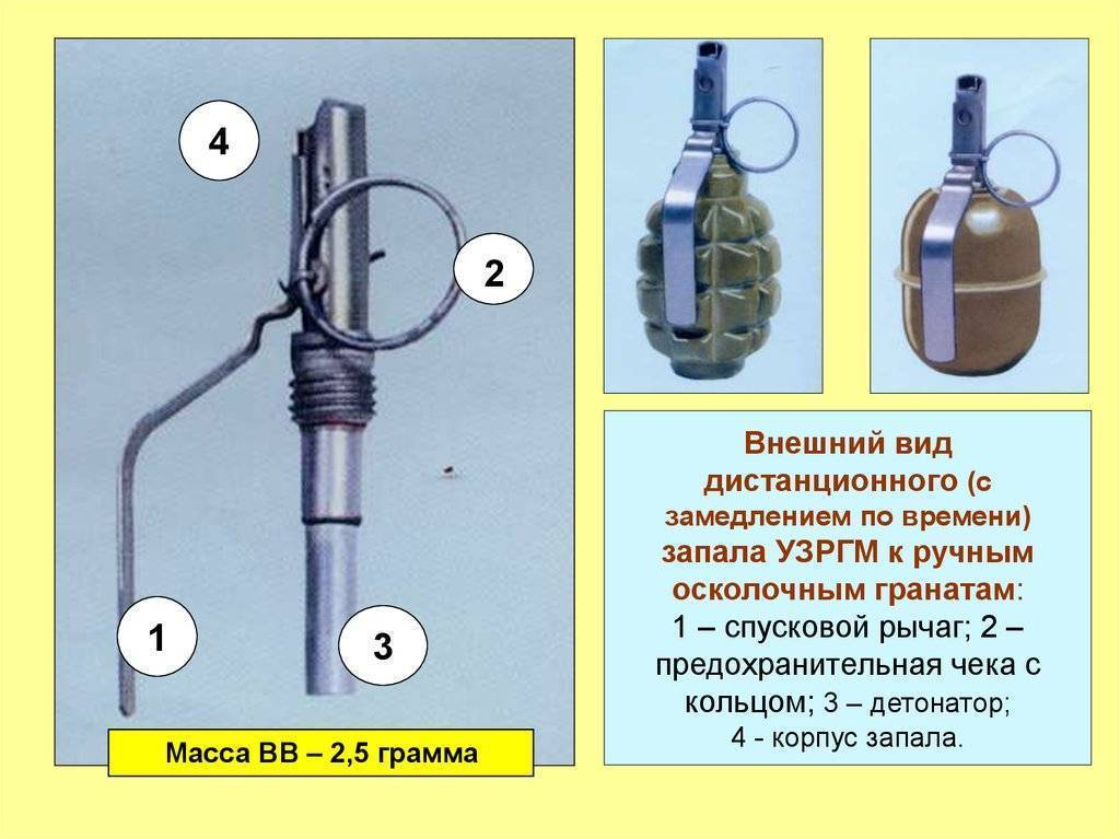 Ручные осколочные гранаты ргд-5, ф-1, ргн, рго. - презентация