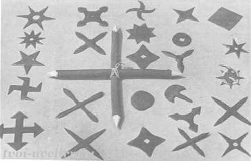 Чертежи метательных звезд. смертоносная звезда сюрикэн: история, классификация, особенности применения. в японии представлены три основных типа сюрикена