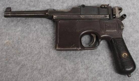 Mauser c/96 википедия