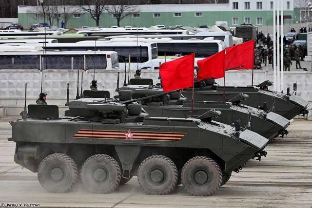 БТР «Бумеранг» – прорыв российского производства
