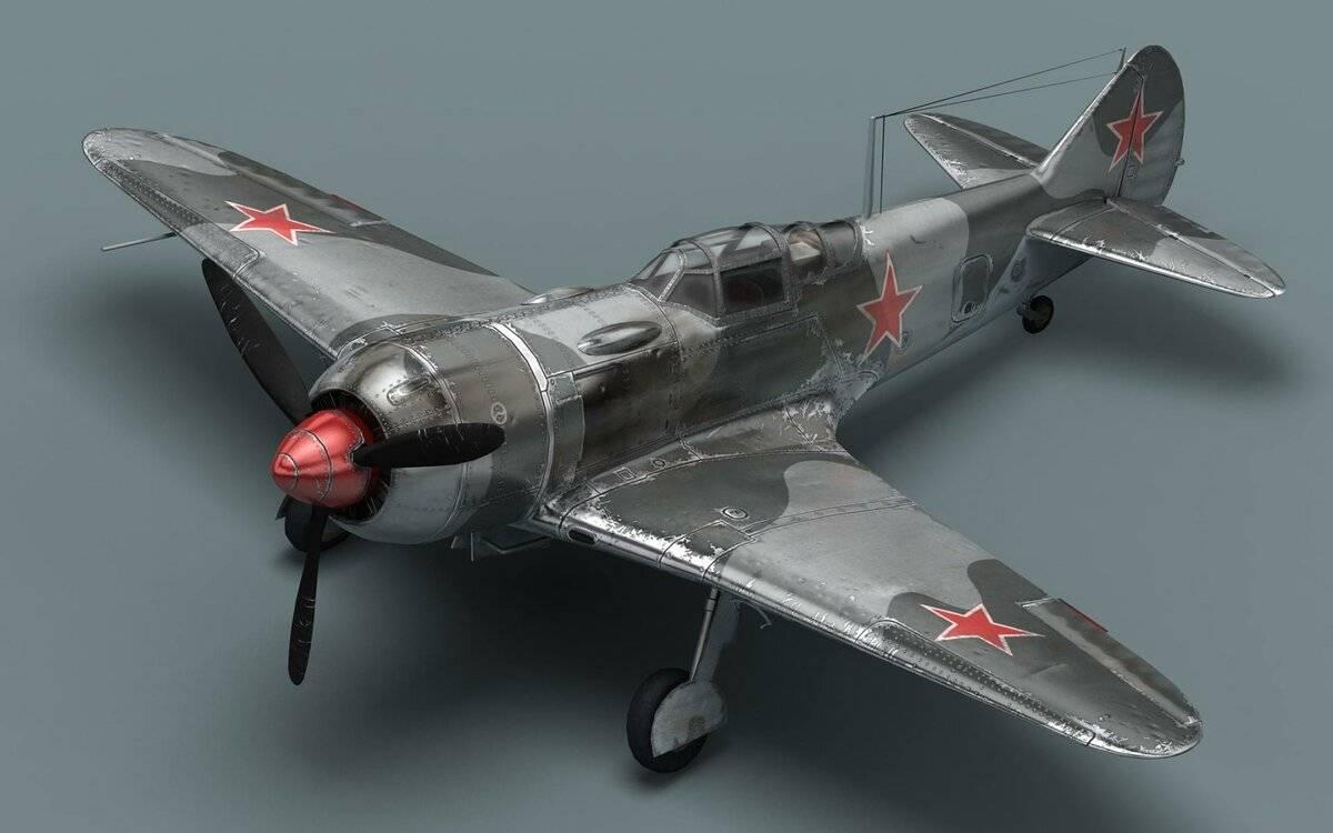 Истребитель Ла-7 – гроза реактивных мессеров