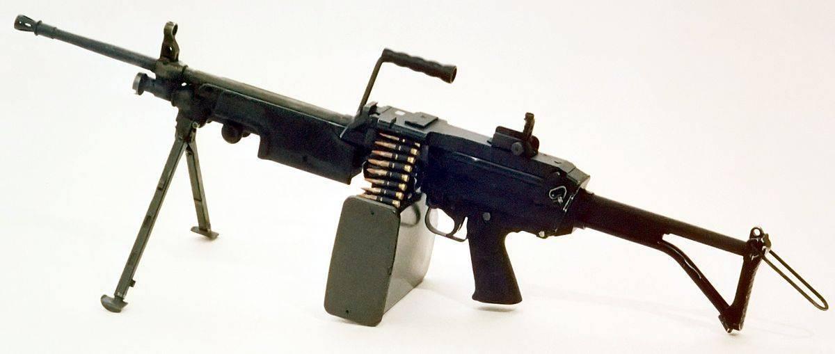 Пулемет FN Minimi (Mini Mitrailleuse)