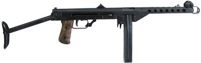 Остен пистолет-пулемет - austen submachine gun