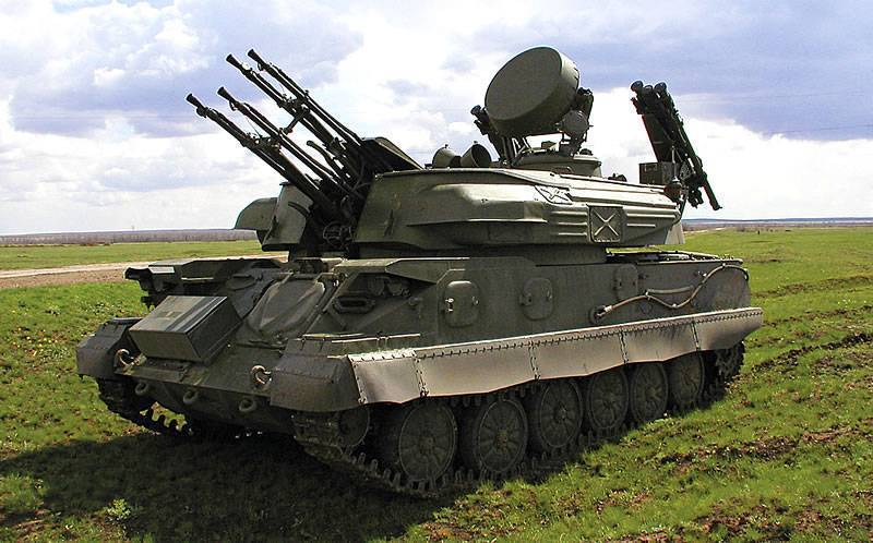 Зенитная самоходная установка зсу-23-4 «шилка» (россия)