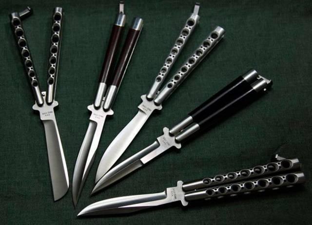 Нож-бабочка (балисонг): правила выбора холодного оружия