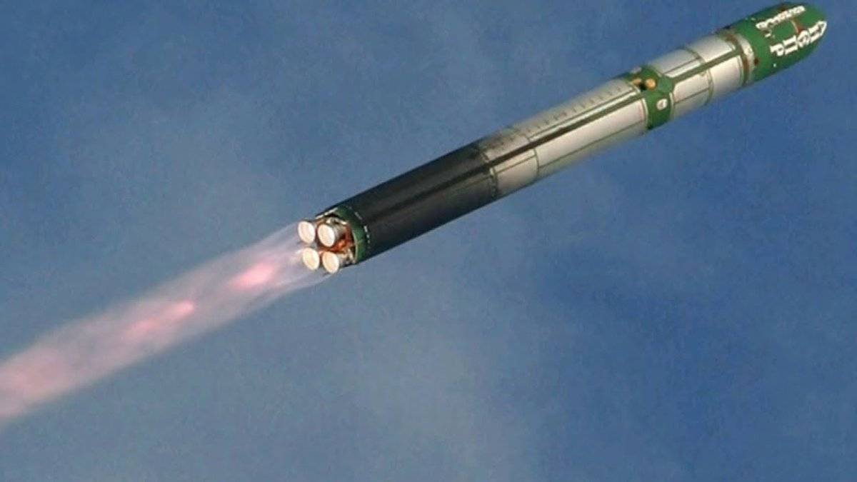 Ракета сармат: фото, характеристики, видео