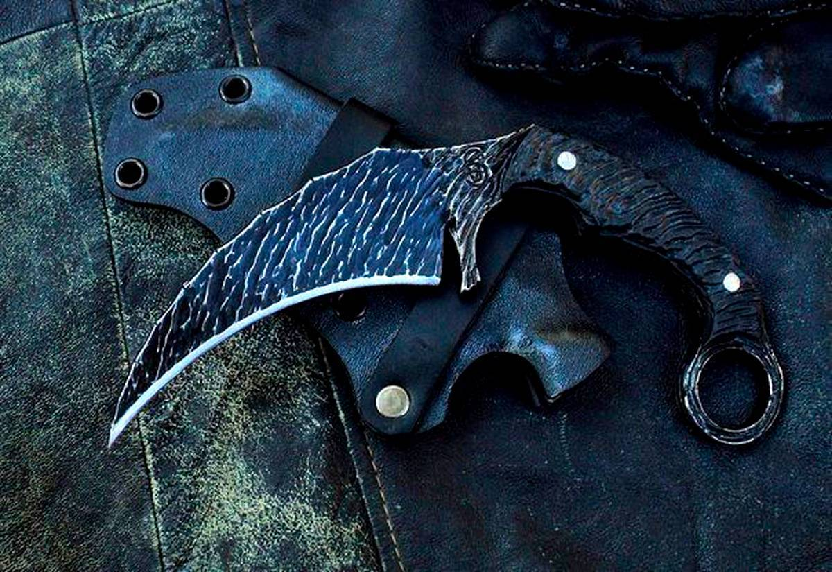 Коготь тигра – нож керамбит