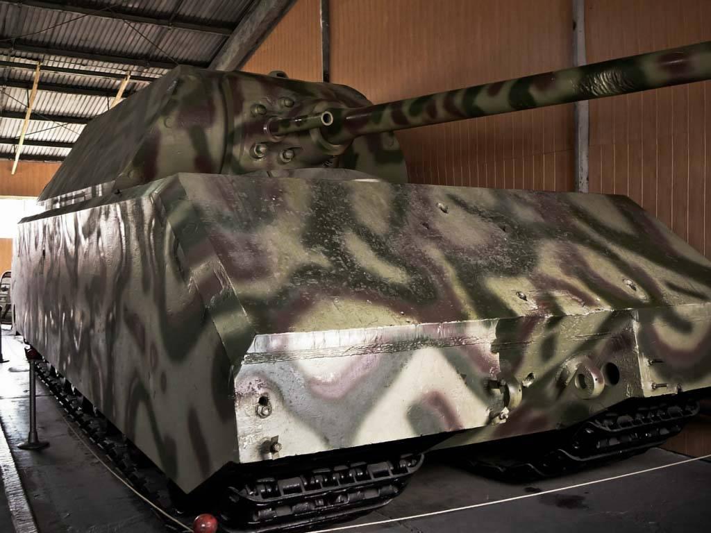Самая большая вмире мышь: сверхтяжёлый танк «маус»