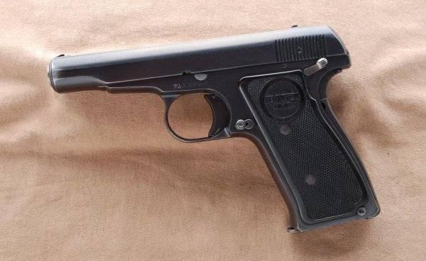 Пистолет remington m51