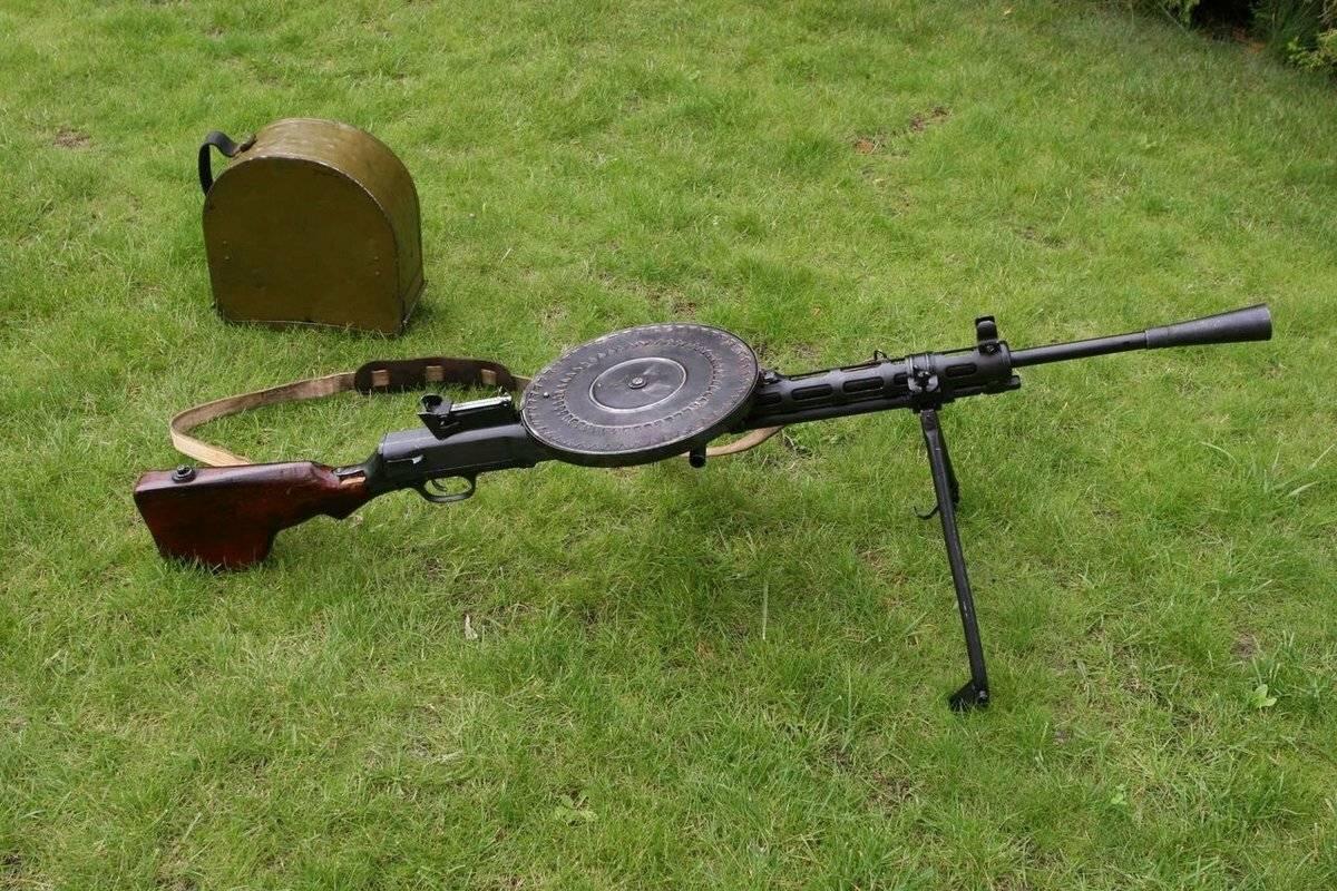 Охолощенное оружие Ручной пулемет Дегтярева РПДХ
