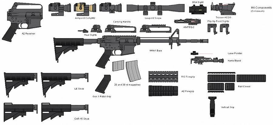 M4 (автомат) — википедия с видео // wiki 2