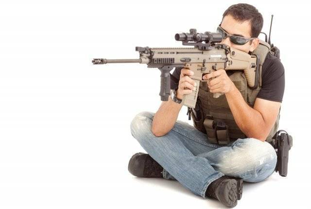 Штурмовая винтовка scar