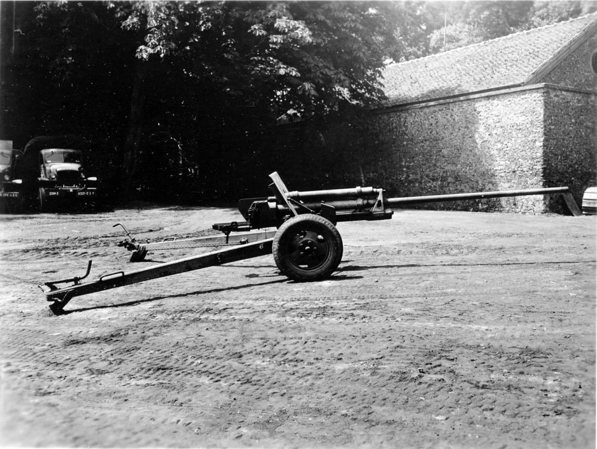 ЗИС-2 – лучшее противотанковое орудие РРКА