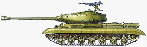 Тяжелые танки ис-1 и ис-2.