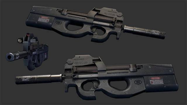 FN P90 – от пистолетов-пулеметов отстал, к автоматам не пристал