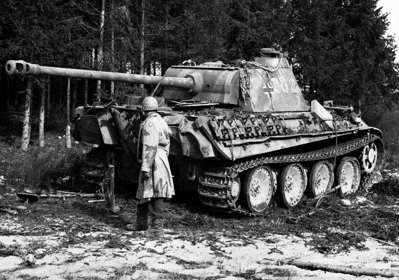 "Немецкий танк ""пантера"" - pz.kpfw v panther"