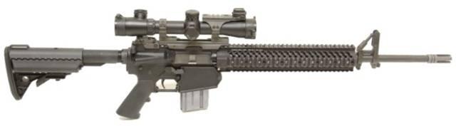 Видео: штурмовая винтовка colt acr