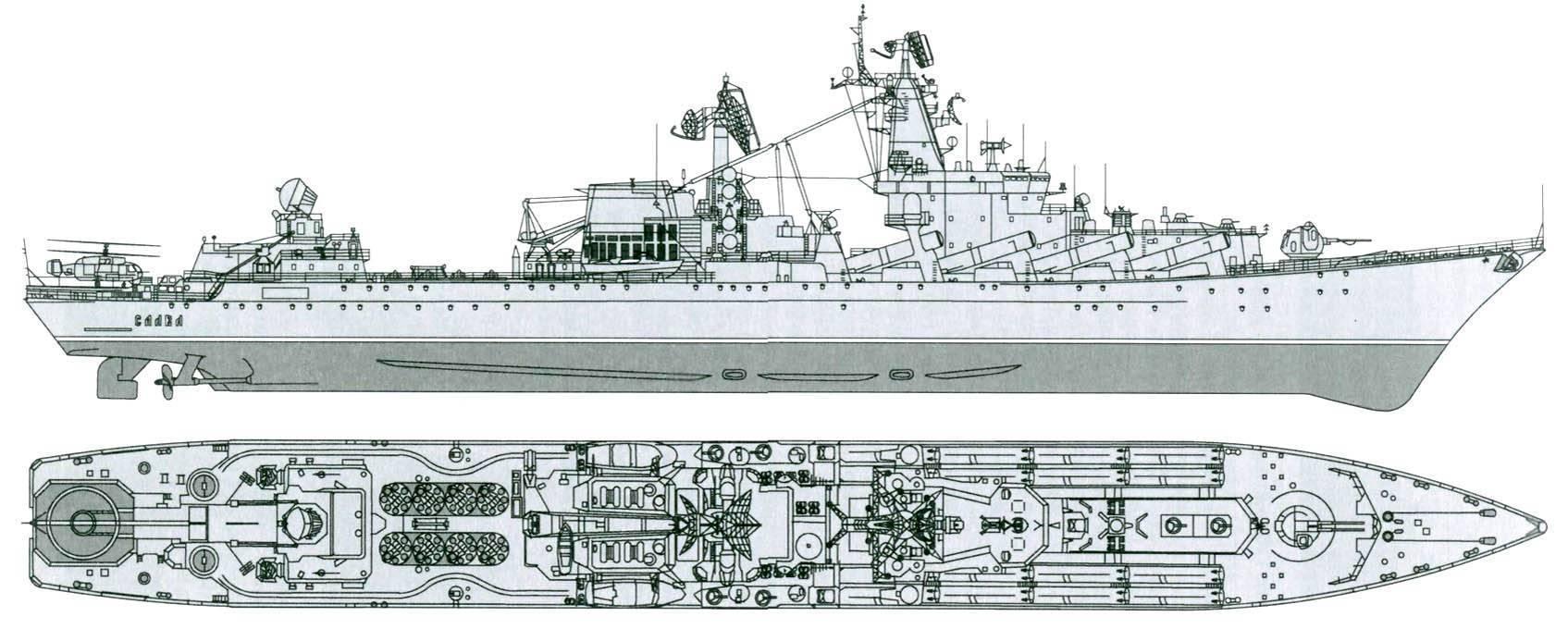 Крейсера проекта 1164 «атлант»