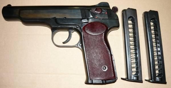 Травматический пистолет стечкина (апс мр-355)