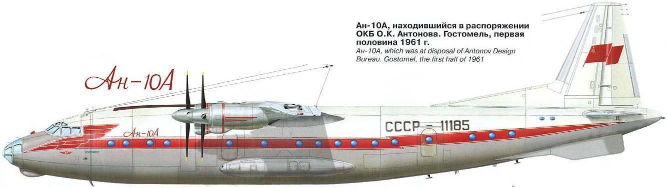 Ан-10 - вики