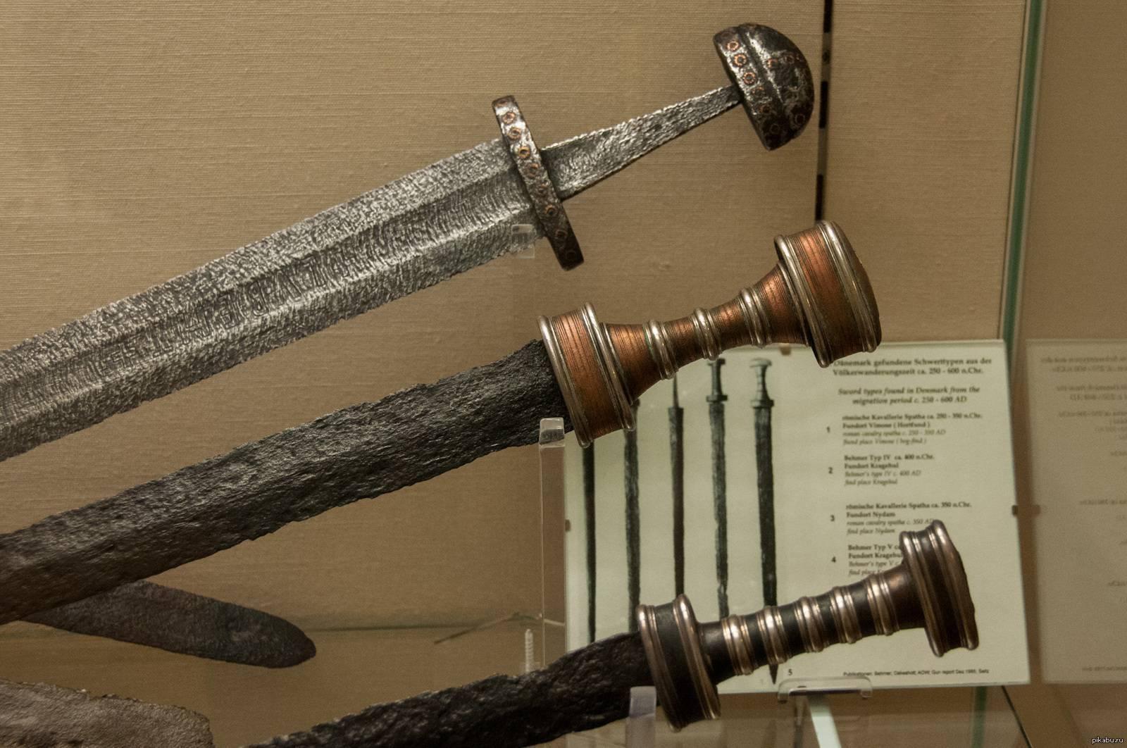 Меч спата – самое известное оружие римской кавалерии