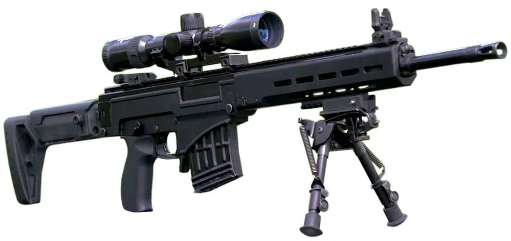 Свч-308: новая винтовка дляснайперов ипрезидента